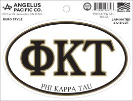 Fraternity Euro Syle Decals